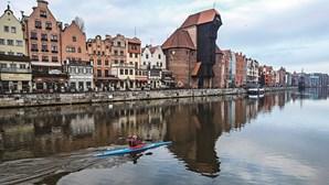 A vibrante e moderna Gdansk