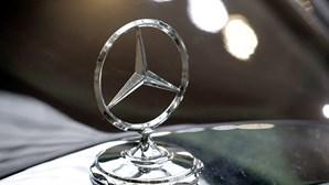 Roubam cinco Mercedes numa noite