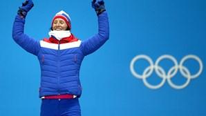 Norueguesa Bjorgen bate recorde de medalhas olímpicas