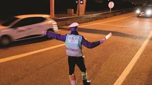 Período de passagem de ano com 408 acidentes de viação e sete mortos
