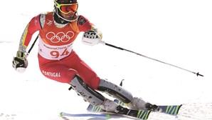 Hanse em 38.º lugar no esqui alpino olímpico
