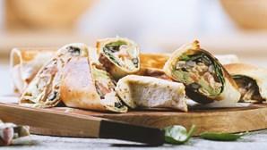 Burritos de frango: uma receita versátil para degustar em qualquer lugar