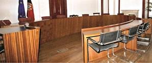 Sala no Supremo onde os cinco arguidos detidos foram interrogados