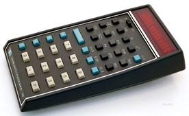 Calculadora científica (HP-35, 1972) - 1.901€