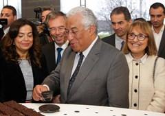António Costa com a presidente da Câmara de Matosinhos, Luísa Salgueiro