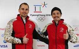 Arthur Hanse e Kequyen Lam, os atletas portugueses em PyeongChang