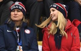 Ivanka Trump deslumbra nas bancadas dos Jogos Olímpicos