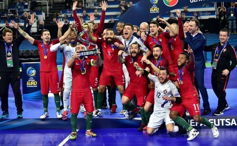 1ac2b08bab Portugal conquista primeiro Europeu de futsal - Modalidades ...