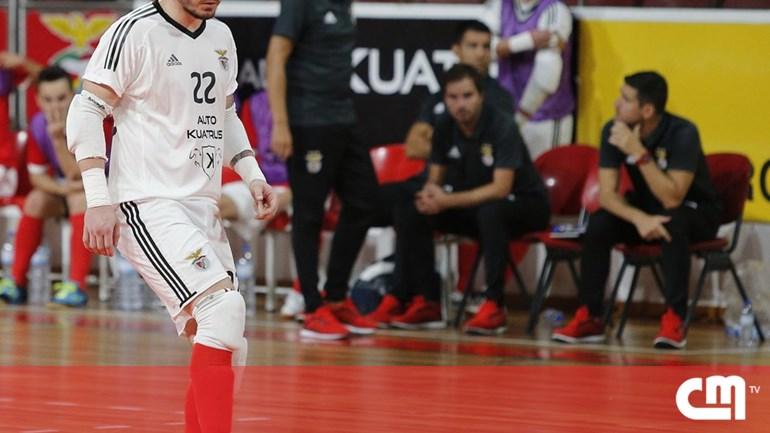 Benfica renova contrato com guarda-redes de futsal Diego Roncaglio ... c3b89866949e2