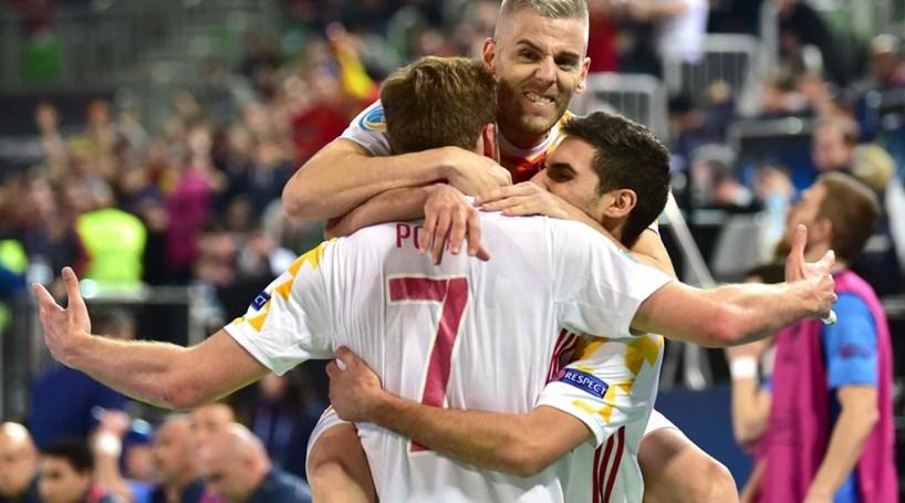 8193c05205 Espanha na final do Europeu de Futsal contra Portugal - Modalidades ...
