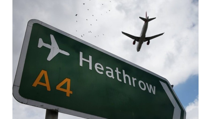 Aeroporto de Heathrow, em Londres
