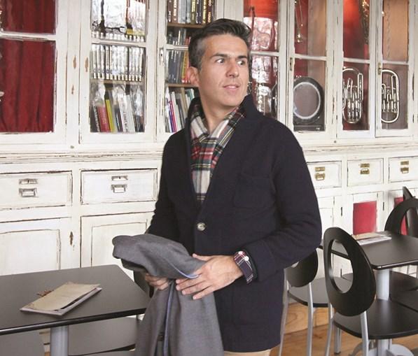 Aos 40 anos, Adolfo Mesquita Nunes é um dos vice-presidentes do CDS