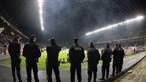 PSP considera Braga-Sporting jogo de 'risco elevado'