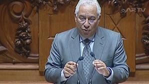 António Costa desafia deputados a limpar florestas