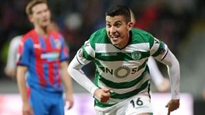 Sporting perde em Plzen mas passa aos quartos da Liga Europa no prolongamento