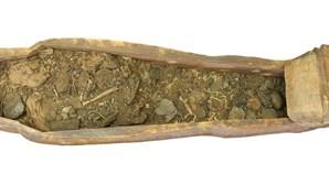 Mais 14 sarcófagos descobertos na necróple de Saqqara, no Egito