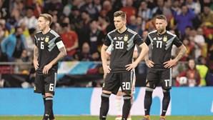 Argentina arrasada após goleada