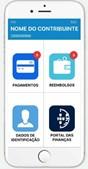 App das Finanças
