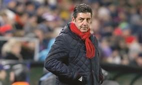 Rui Vitória, treinador do Benfica, reconhece melhorias da equipa