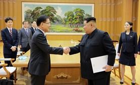 Emissário sul-coreano encontrou-se com Kim Jong-un em Pyongyang