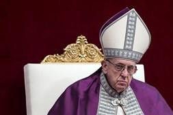 Papa Francisco no Vaticano, em março de 2018