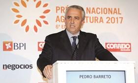 Pedro Barreto, administrador do BPI, na cerimónia de entrega dos prémios