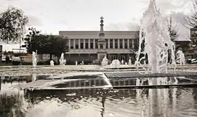 Vista do centro da Anadia, uma cidade com história e beleza