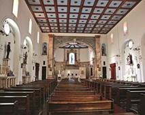 Basílica do Santuário Nacional de Maria Auxiliadora, em Mogofores