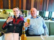 Sergei Skripal e a filha, Yulia, lutam pela vida num hospital britânico