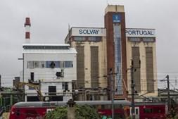 Fábrica da Solvay na Póvoa de Santa Iria
