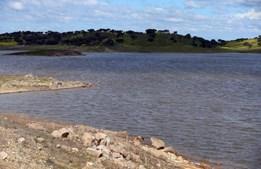 Barragem do Caia, Elvas, a 20 de março de 2018