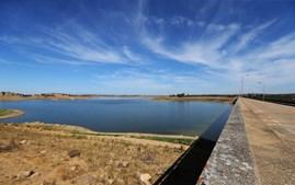 Barragem do Caia, Elvas, em outubro de 2017