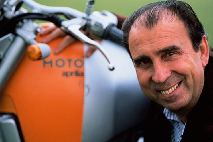 Faleceu Ivano Beggio, presidente da marca de motociclismo ...