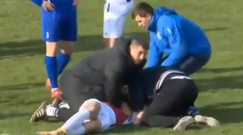e693242d5d Jogador croata de 25 anos morre em campo - Futebol - Correio da Manhã