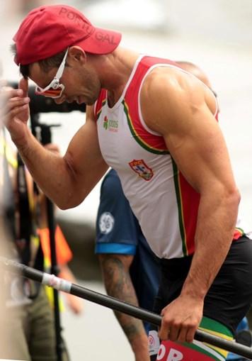 Fernando Pimenta nos Mundiais de Canoagem, em 2017