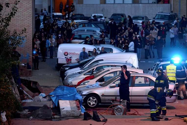 Queda de muro durante ação de praxe provocou a morte de três jovens alunos junto à Universidade do Minho, em 2014