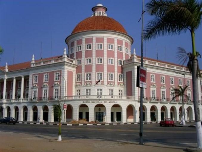Banco Nacional de Angola, em Luanda
