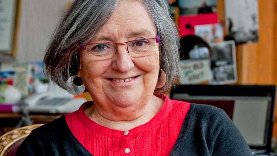 A escritora Alice Vieira