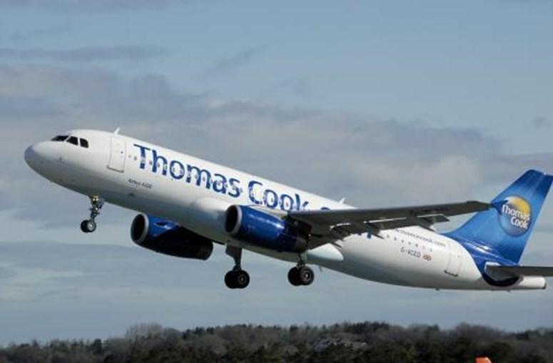 Avião da Thomas Cook