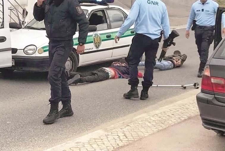 Suspeitos detidos