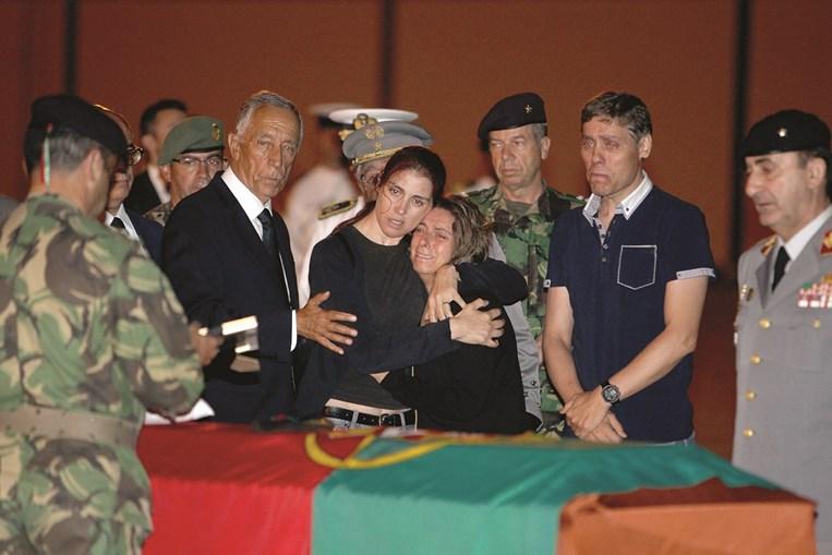 Presidente da República esteve no funeral