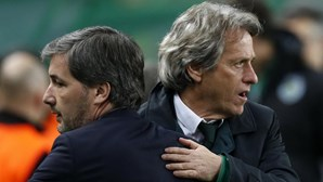 Presidente do Sporting suspende Jorge Jesus