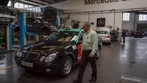 Taxista chega aos 2 milhões de km num Mercedes Classe E