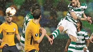 Sporting sai com honra da Liga Europa