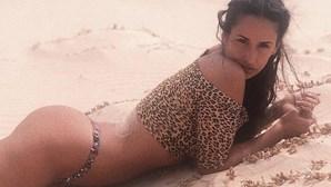 Rita Pereira sexy em Cabo Verde