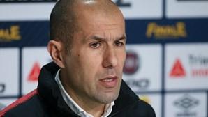 Treinador português Leonardo Jardim de saída do Mónaco