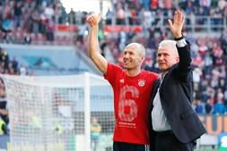 Bayern de Munique celebra sexto título consecutivo na Alemanha
