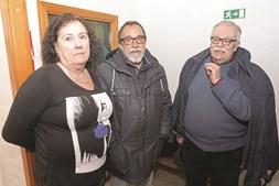 Lídia Leitão Correia (advogada), Gobern Lopes (ex-FP-25) e Vladimir Rocklaia (ex- -BR), no almoço