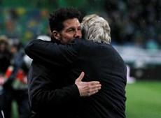 As melhores imagens do Sporting-Atlético de Madrid