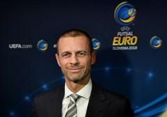 Presidente da UEFA, Aleksander Čeferin